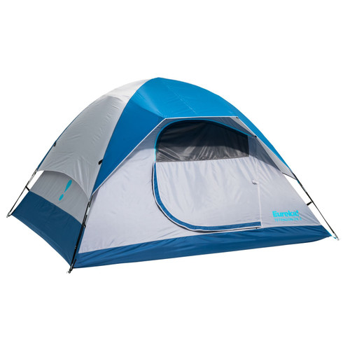 Eureka Tetragon NX 4 Person Camping Tent - Mykonos Blue
