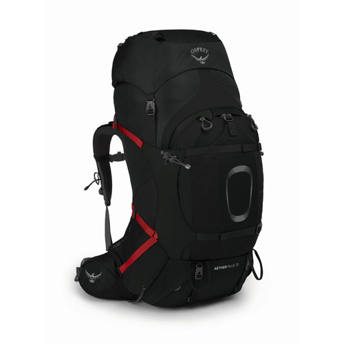 Osprey Aether Plus 70L Backpack - Men's - Black