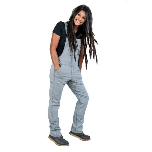 Dovetail Workwear Freshley Overall - Women's - Indigo Stripe