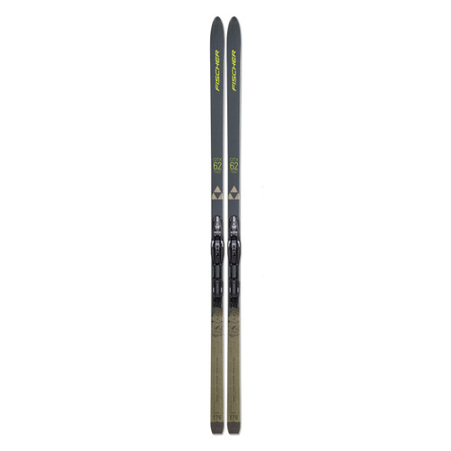Fischer Adventure 62 Crown Xtralite Cross Country Skis with Bindings