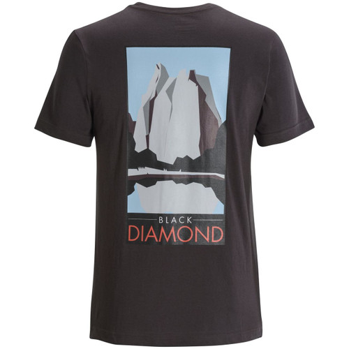 Black Diamond Destination Tee Shirt - Men's - Back