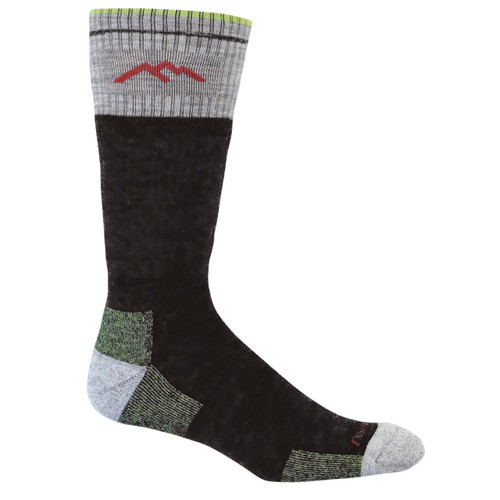 Darn Tough Merino Wool Boot Cushion Hiking Socks  - Men's - Lime