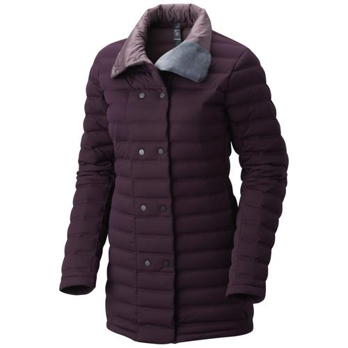 Mountain Hardwear StretchDown Coat - Women's - Dark Tannin