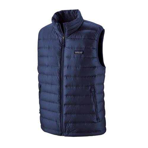 Patagonia Down Sweater Vest - Men's - Classic Navy
