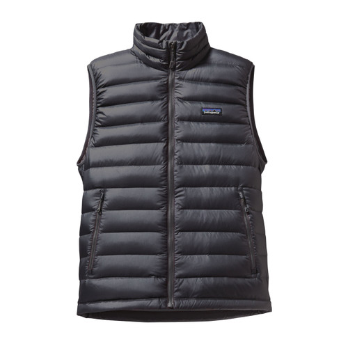 Patagonia Down Sweater Vest - Men's - M - Forge Grey w/ Forge Grey