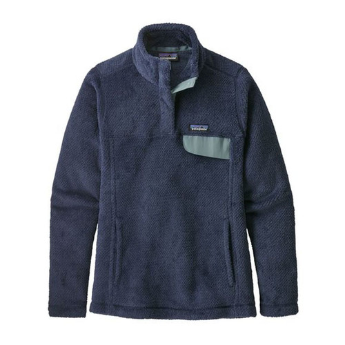 Patagonia Re-Tool Snap-T Pullover - Women's - Stone Blue - Classic Navy X-Dye
