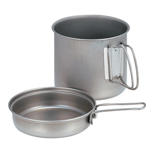Snow Peak Trek 1400 Titanium Cook Set