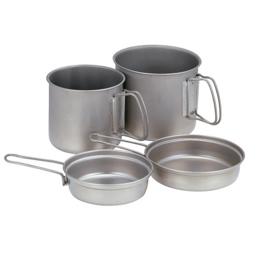 Snow Peak Trek Combo Titanium Cook Set