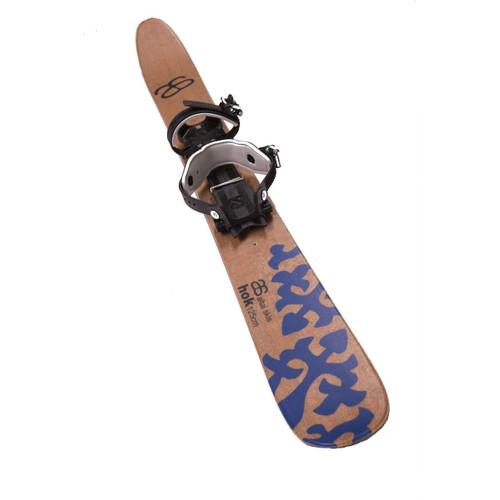 Altai Hok Ski w/ Xtrace Pivot Bindings - Natural Brown