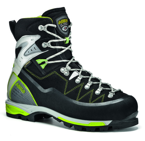 Asolo Alta Via GV Mountaineering Boot - Men's - Black/Green