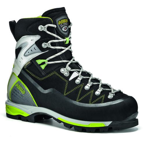 Asolo Alta Via GV Mountaineering Boot - Women's - Black/Green