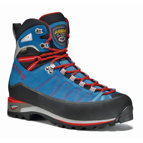 Asolo Elbrus GV Mountaineering Boots - Men's - Blue/Astor Silver