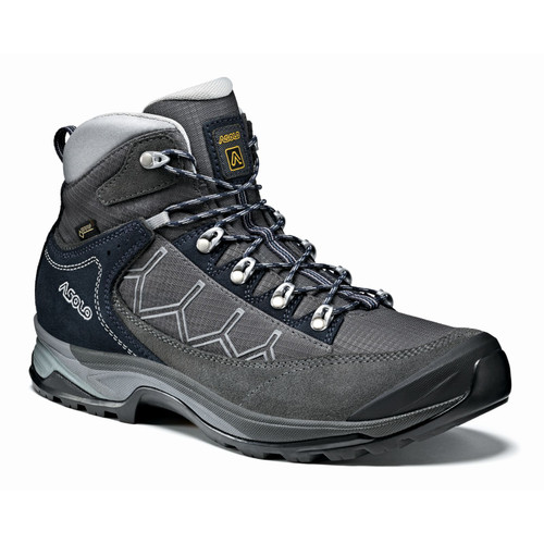 Asolo Falcon GV Hiking Boots - Men's - Graphite/Graphite/Blueberry