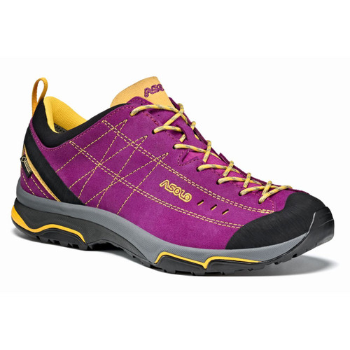 Asolo Nucleon GV Hiking Shoes - Women's - Verbena/Yellow