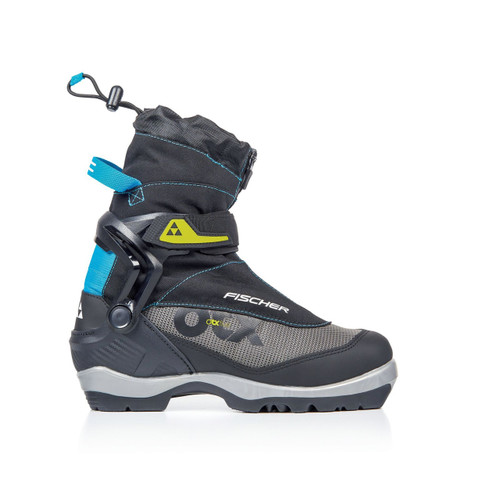 Fischer Offtrack 5 BC MyStyle Cross Country Ski Boot - Women's - Black/Silver/Blue