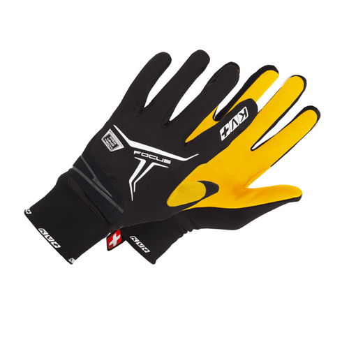KV+ Focus Kango Nordic Race Glove - Men's - M - Black/Kango