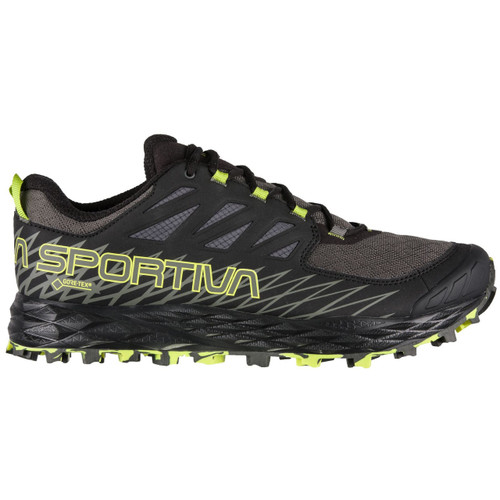 La Sportiva Lycan GTX Mountain Running Shoe - Men's - Carbon/Apple Green