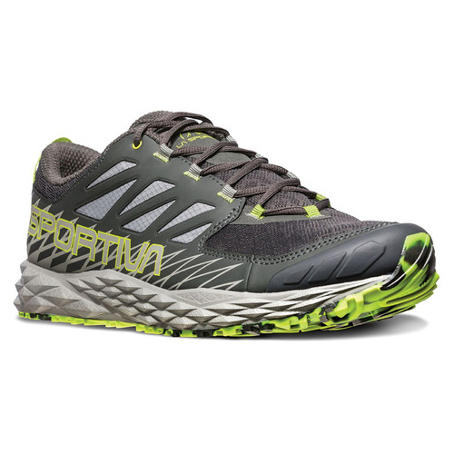 La Sportiva Lycan Mountain Running Shoe - Men's - Carbon/Apple Green