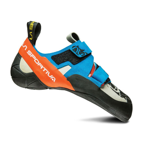 La Sportiva Otaki Rock Climbing Shoes - Men's - Blue/Flame