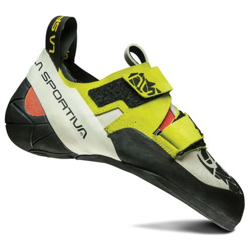 La Sportiva Otaki Rock Climbing Shoe - Women's - Sulfur/Coral