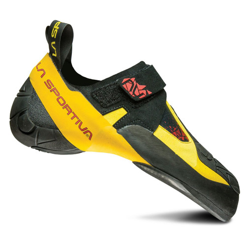 La Sportiva Skwama Rock Climbing Shoes - Men's - Black/Yellow