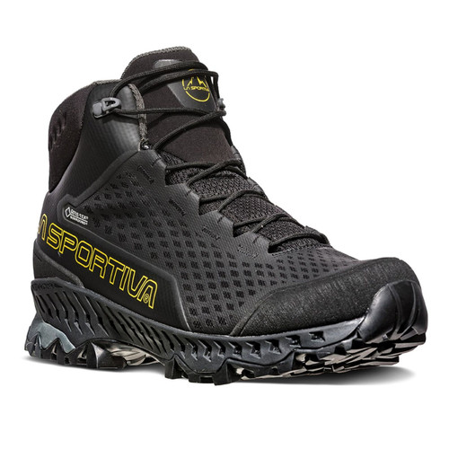 La Sportiva Stream GTX Hiking Boots - Men's - Black/Yellow