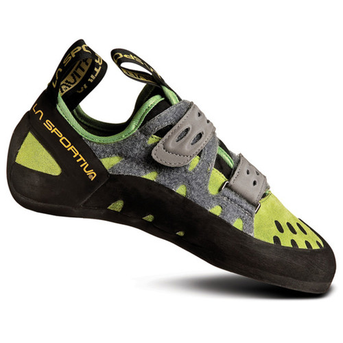 La Sportiva Tarantula Rock Climbing Shoe - Men's - Kiwi/Grey