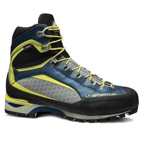 La Sportiva Trango Tower GTX Mountaineering Boot - Men's - Ocean/Sulphur