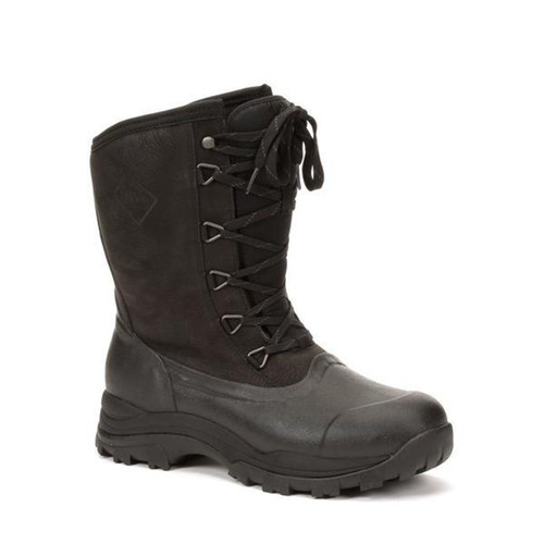 Muck Boot Arctic Outpost Lace Mid Winter Boot - Men's - Black/Gray
