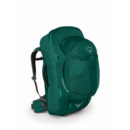 Osprey Fairview 55 Travel Pack  - Women's - Rainforest Green
