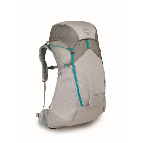Osprey Lumina 45 Ultralight Backpack - Women's - Cyan Silver