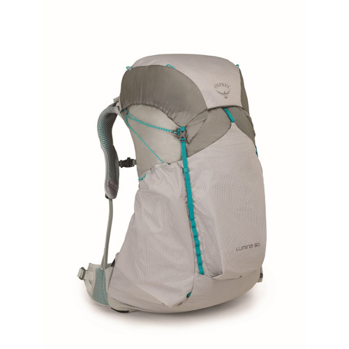 Osprey Lumina 60 Ultralight Backpack - Women's - Cyan Silver