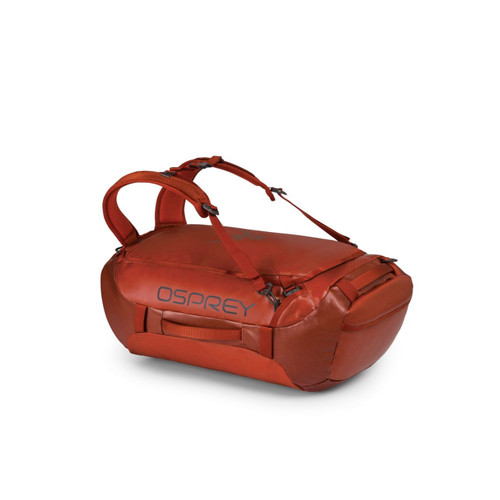 Osprey Transporter 65L Expedition Duffel - Ruffian Red