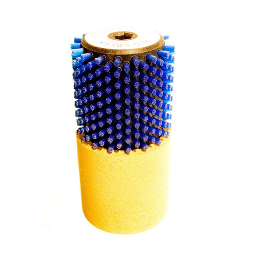 Red Creek Blue Nylon/Cork Rotobrush, 140mm