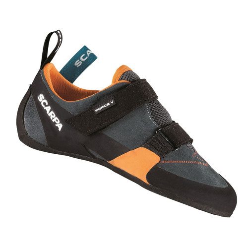Scarpa Force V Rock Climbing Shoe - Men's - Mangrove/Papaya