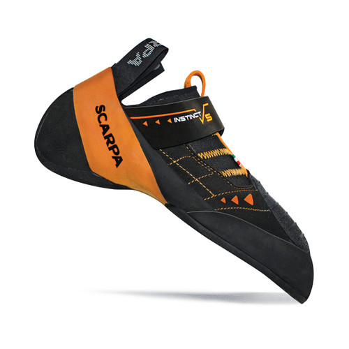 Scarpa Instinct VS Rock Climbing Shoe - Men's - Black/Orange