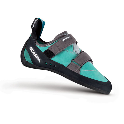 Scarpa Origin Rock Climbing Shoe - Women's - Green Blue/Smoke