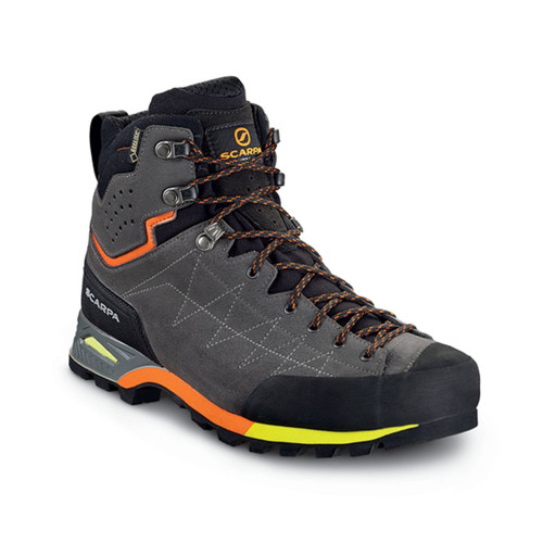 Scarpa Zodiac Plus GTX Hiking Boots - Men's - Shark/Orange