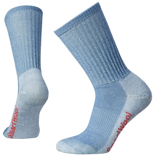 SmartWool Hike Light Crew Sock - Women's - Blue Steel