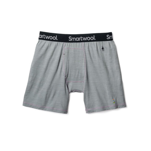 Smartwool Merino 150 Pattern Boxer Brief - Men's - Light Gray
