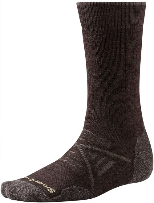 Smartwool PhD Outdoor Medium Crew Socks - Men's - Chestnut
