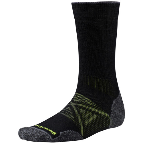 Smartwool PhD Outdoor Medium Crew Socks - Men's - Black