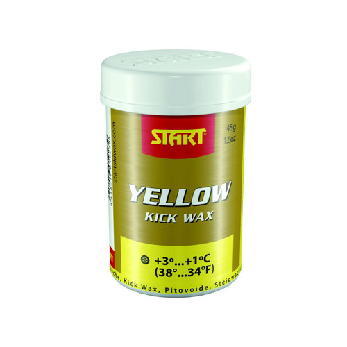 Start Synthetic Kick Wax-Yellow