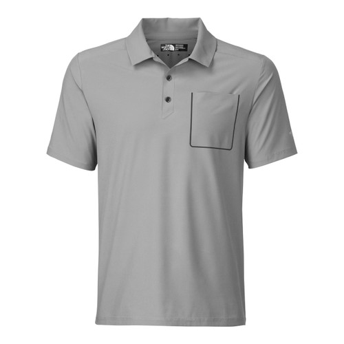 The North Face S/S Ignition Polo -  Spring 2016 - Men's - Mid Grey