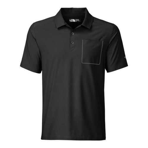 The North Face S/S Ignition Polo -  Spring 2016 - Men's - TNF Black