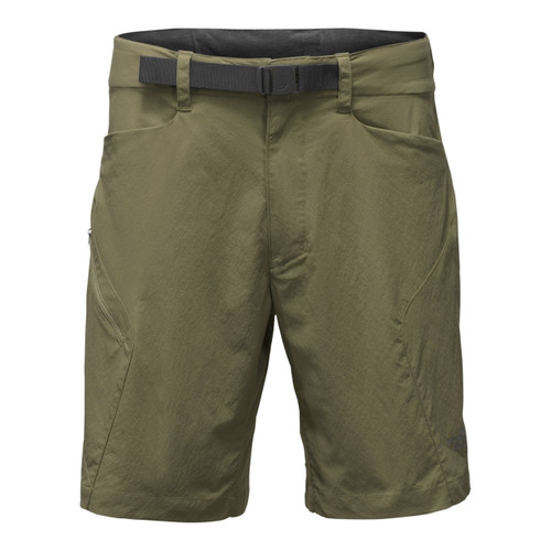 The North Face Straight Paramount 3.0 Short - Men's - Burnt Olive Green