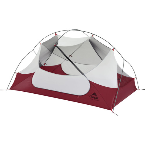 MSR Hubba Hubba NX Ultralight Backpacking Tent V8 - 2 Person - Red