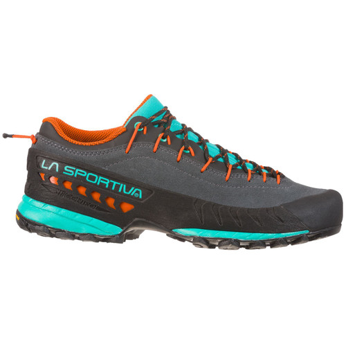La Sportiva TX4 Approach Shoe - Women's - Carbon/Aqua