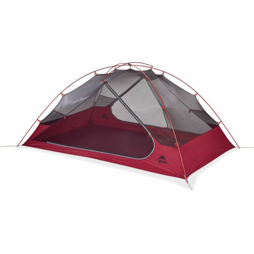 MSR Zoic 2 Person backpacking Tent - 2 Person - Red