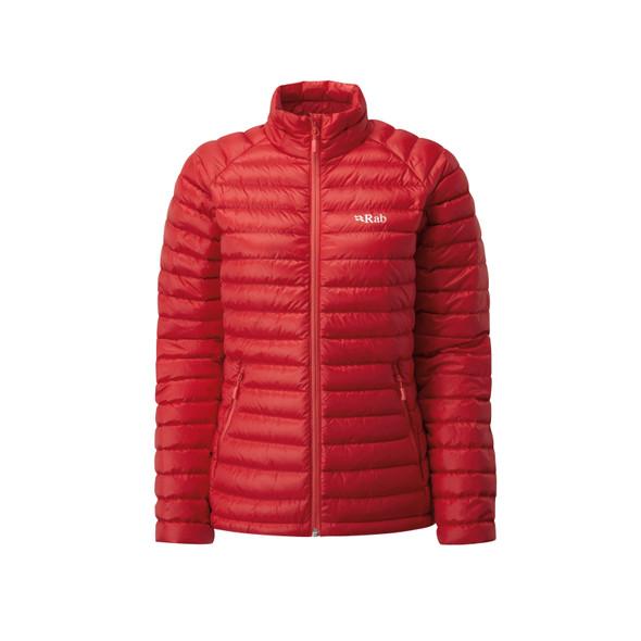 Rab Microlight Jacket -Women's - Ruby/Crimson